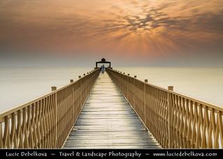 Kuwait - Kuwait City - Seaside Pier at Sunrise