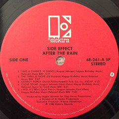 SIDE EFFECT:AFTER THE RAIN(LABEL SIDE-A)