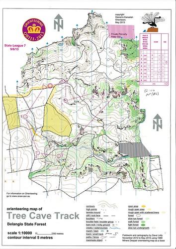 130609 QB3 LD Tree Cave Track - Belanglo SF