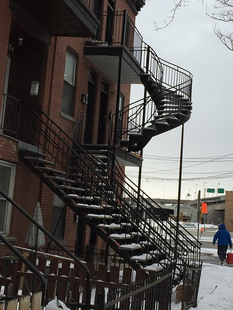 Outside Stairways