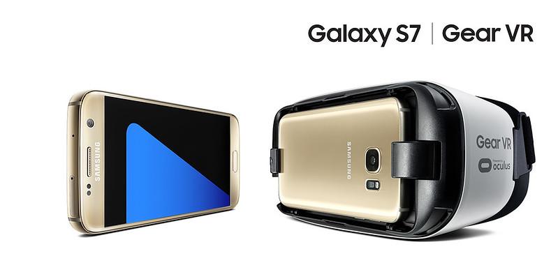 Samsung Galaxy S5 - Gold Platinum - Gear VR