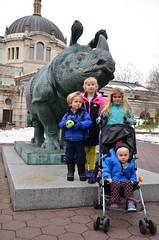Posing By The Rhino