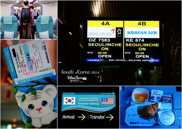 Korean Air Flight KK to Seoul copy
