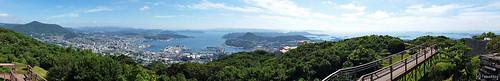 Panorama of Yumiharidake Observation Deck