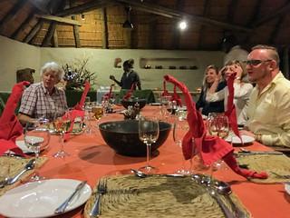 Diner-Tafel im Damaraland Camp
