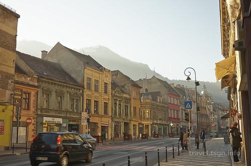 【写真】東欧周遊 : ブラショフ・旧市街