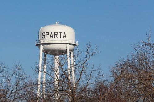 illinois watertower sparta spartail