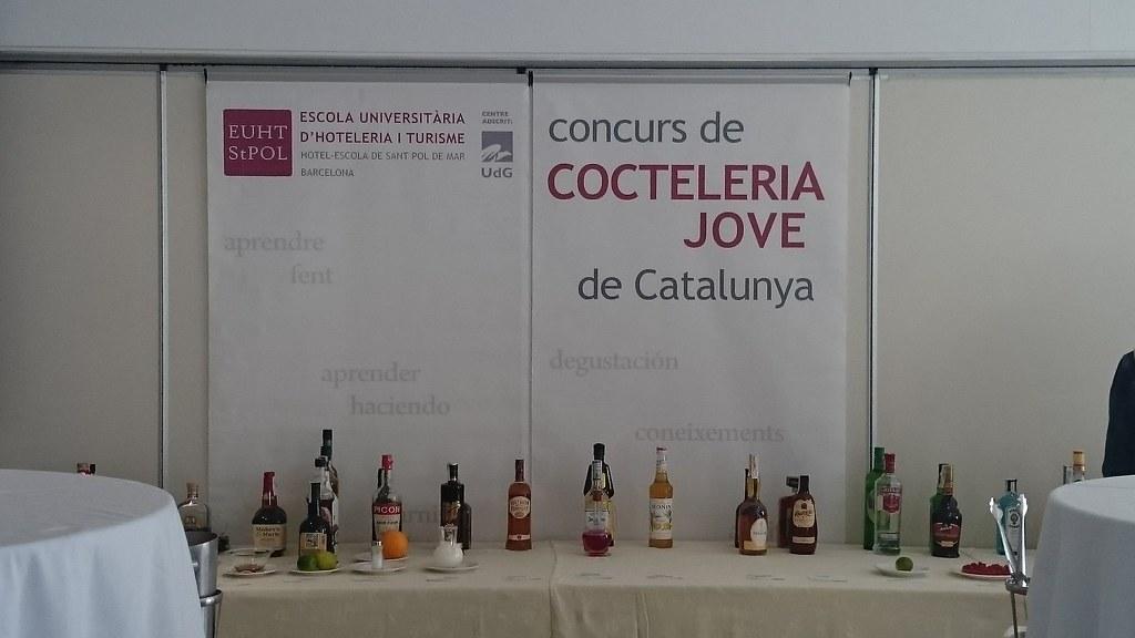 33ª ed. Concurs de Cocteleria Jove de Catalunya 2016