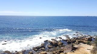Imagem de  North Steyne Beach perto de  Northern Beaches. ocean rocks manly sydney samsung australia bluesky pacificocean nsw newsouthwales shellybeach galaxynote5 n9208
