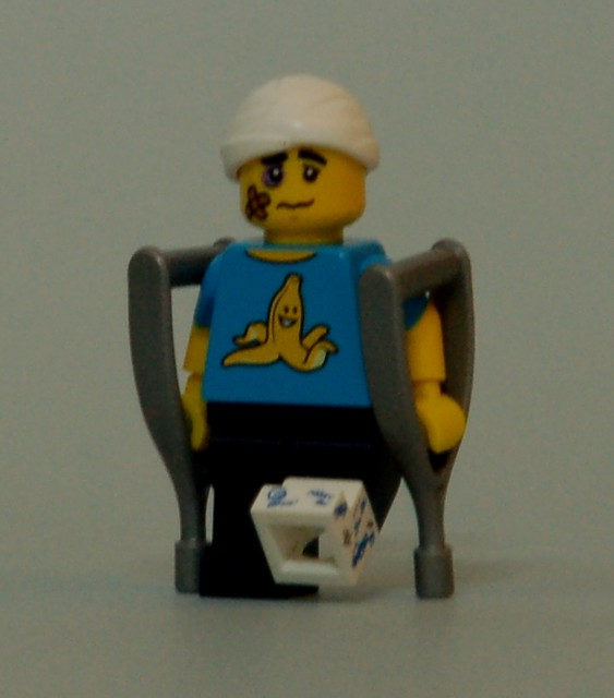 71011 LEGO Minifigures - Series 15 - Clumsy Guy