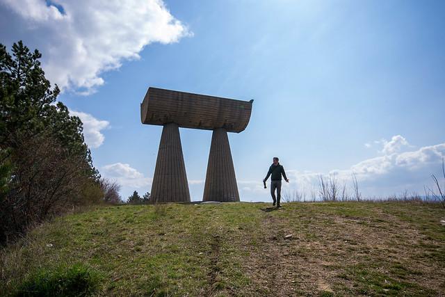 Miners Monument, Mitrovica, Kosovo