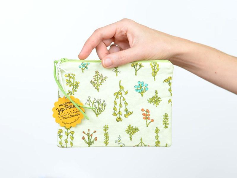 Plant Bits Pouch