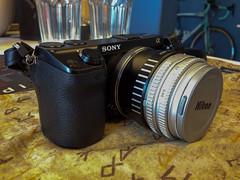 Nex-7 with Nikkor 45mm f/2.8P