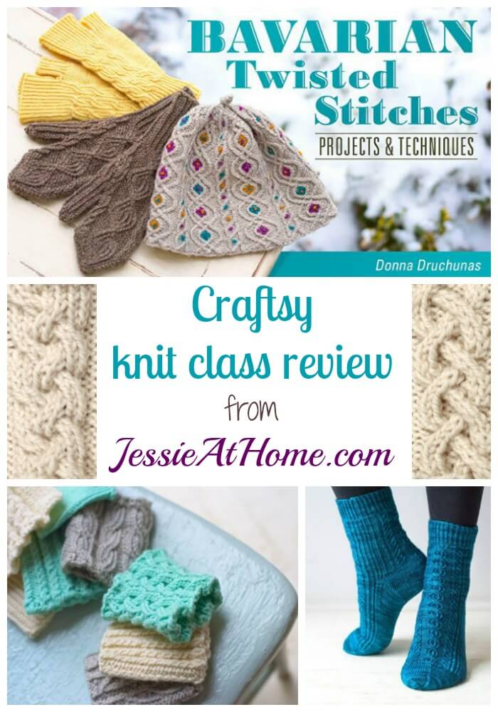 Bavarian Twisted Stitches - Craftsy Knit Class Review Jessie At Home