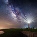 Guiding Lights...part 2 - Milky Way at Bodie Lighthouse, Outer Banks, North Carolina [Explored] by jason_frye