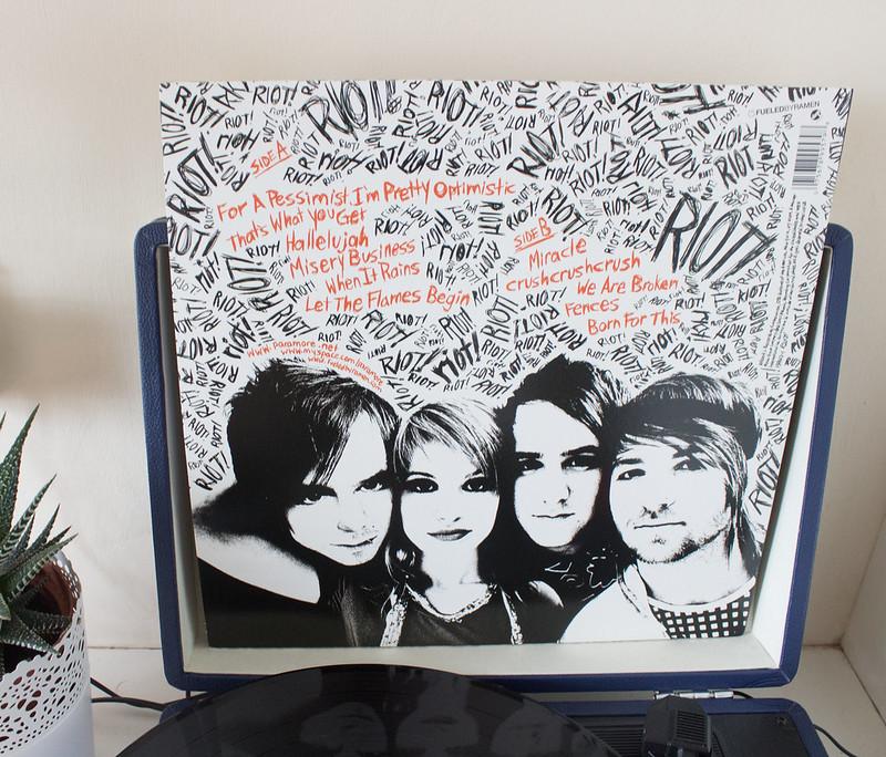 Paramore Riot on vinyl