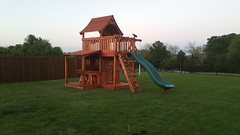 Maverick Swing Set Lower Cabin Lemonade Counter