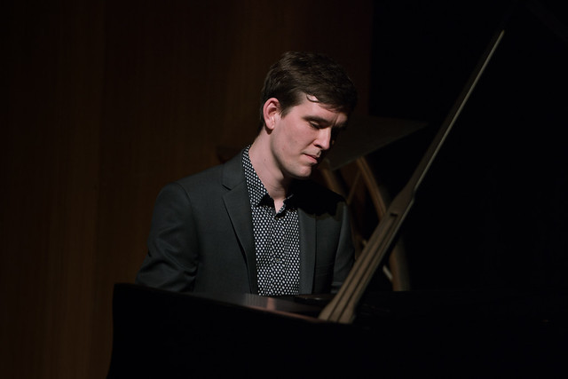 Colin J. Scott plays piano at a Jette Parker Young Artists' recital ©  Roger Way. 2016