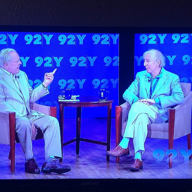 Last night we watched an interview with old Gene Wilder (circa 2013) and it gave me a lot of Feelings. I love him so much!