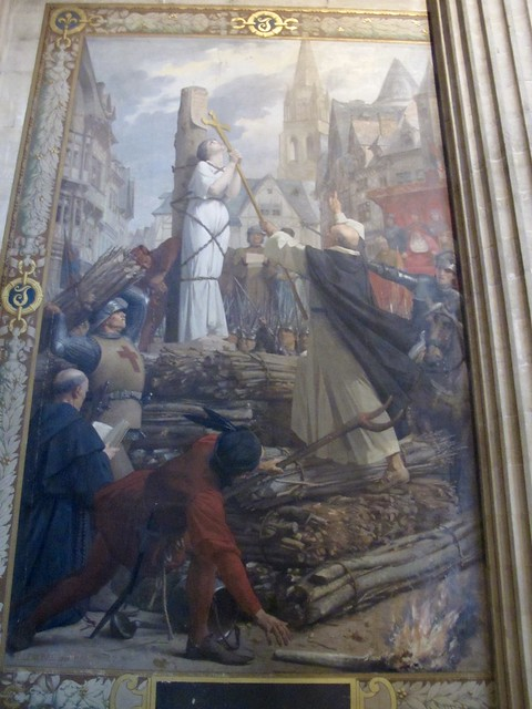 Header of Joan of Arc at the Stake