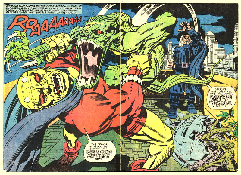 "Jack Kirby - Interior art from ""The Demon"" Issue 7, March 1973"