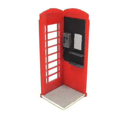 Phone box interior