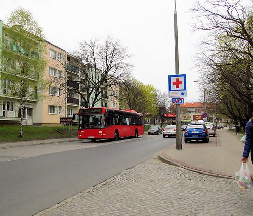 bus volvo autobus olsztyn mpk 7000 zdzit