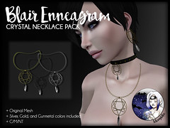 Blair Enneagram Crystal Necklace Pack