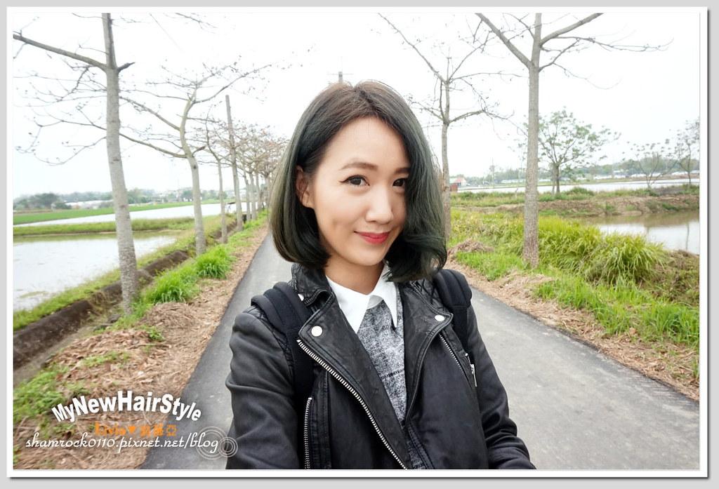 HappyHairTon短髮+墨綠色染髮 - 35