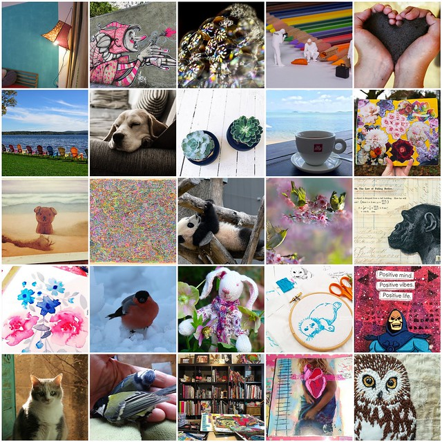 Inspiration Mosaic - March 2016 collected by iHanna at Flickr the best photo sharing/storing site