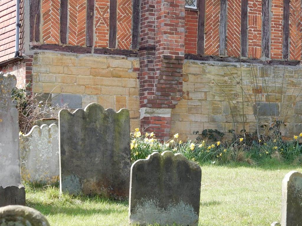 St Mary's churchyard, Speldhurst Ashurst to Eridge