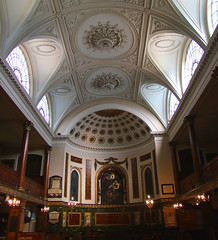 ceiling and apse
