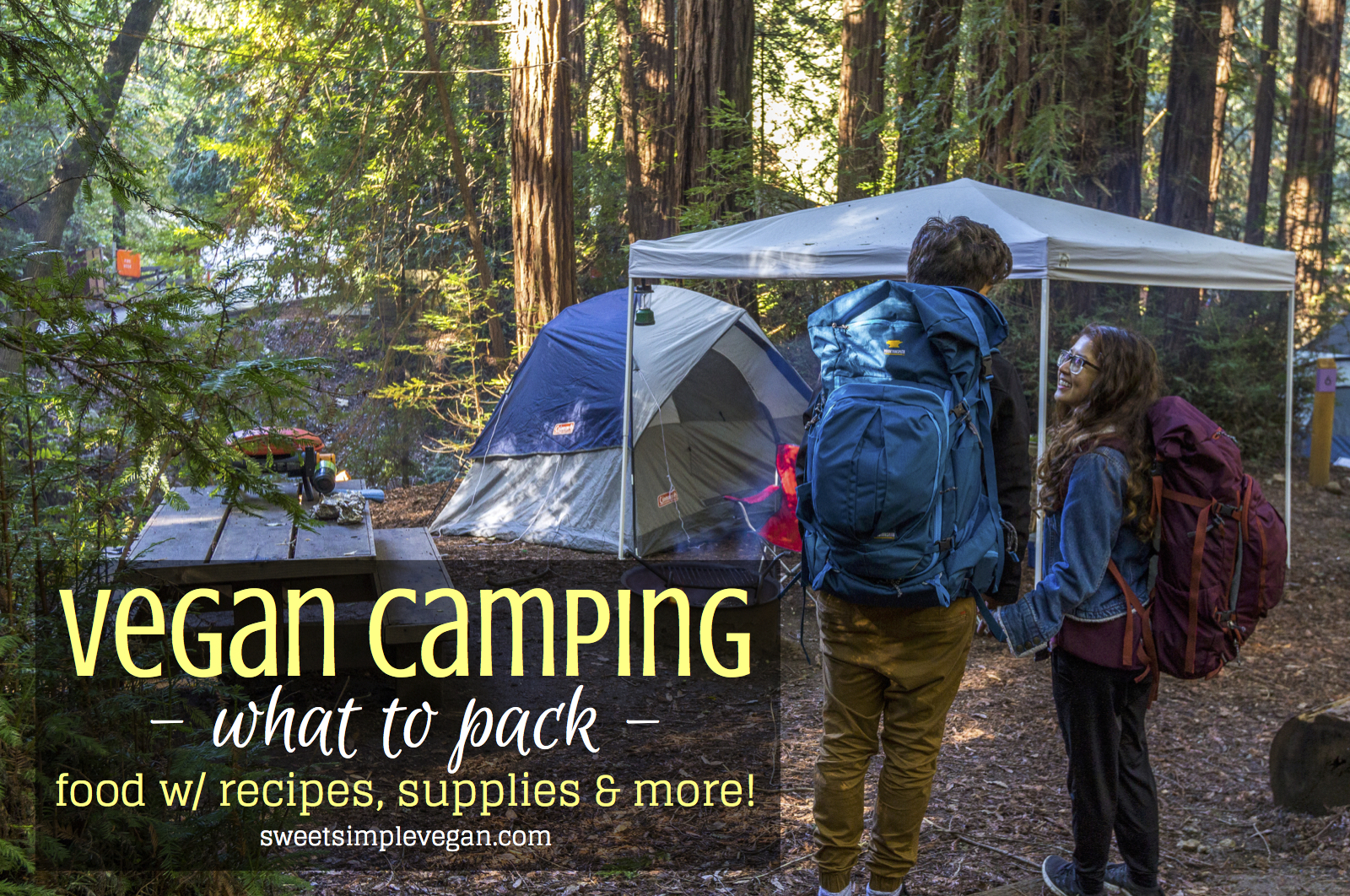 Vegan Camping What To Pack Food W Recipes Supplies More