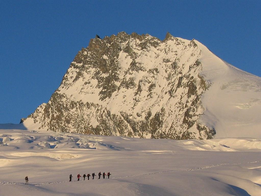 Rimpfischhorn Walliser Alpen / Alpes valaisannes Switzerland photo 01