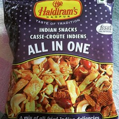 1st time trying this...spicy but so good!  #haldiramsnagpur #snacks #japan #kaldicoffeefarm