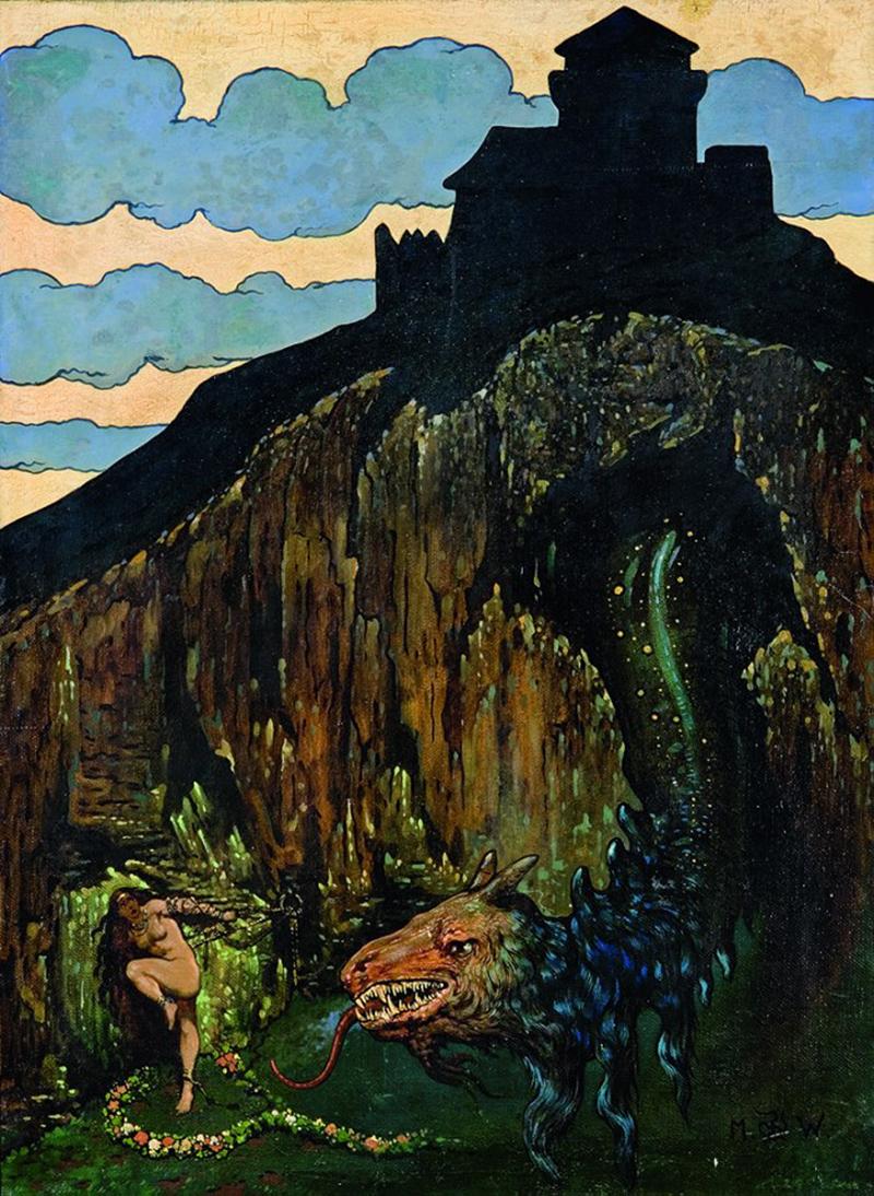 "Marian Wawrzeniecki - ""The Medieval Dragon"", 1912"
