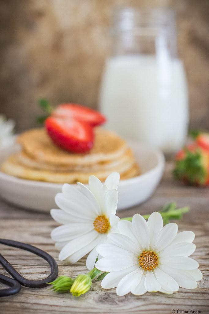 Pancakes allo yogurt greco e albumi3