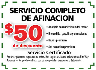 12- Span. Servico Completo de Afinacion - Rite Way Spring AD12