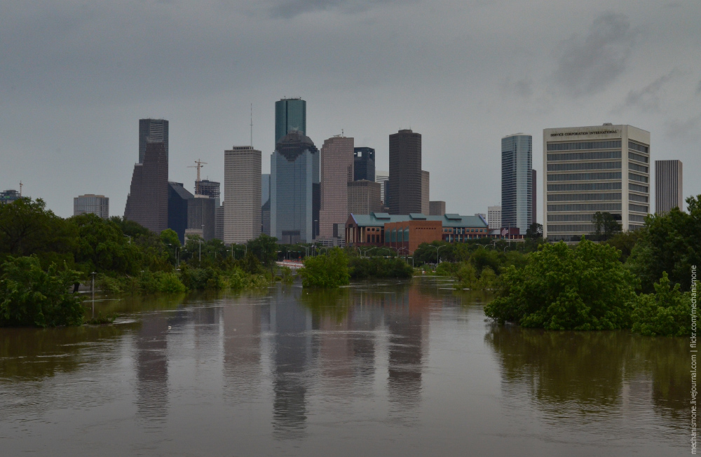 Historic flood in Houston