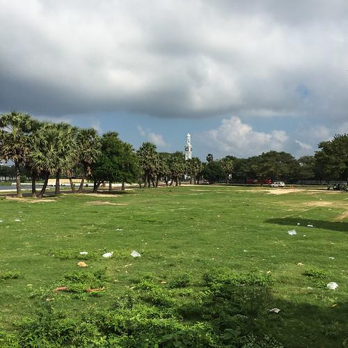 tower clock landscape srilanka jaffna northernprovince