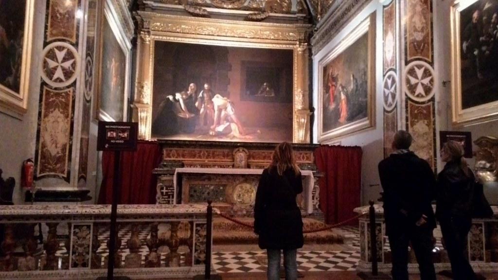 La Decollazione di San Giovanni Battista - Caravaggio