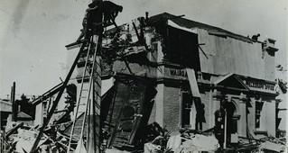 1931 Hawkes Bay Earthquake - Wairoa Post Office