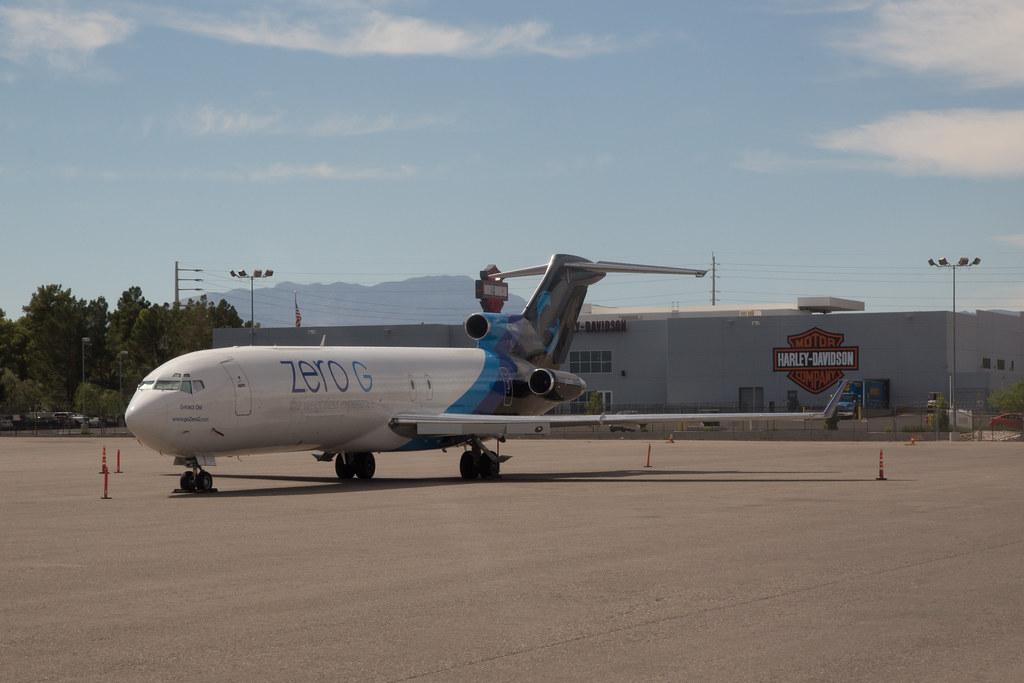 Boeing 727-227(Adv)(F) (reg. N794AJ) in Las Vegas McCarran Int'l Airport - KLAS