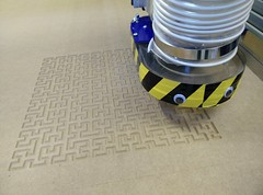 Hilbert curves on the shopbot