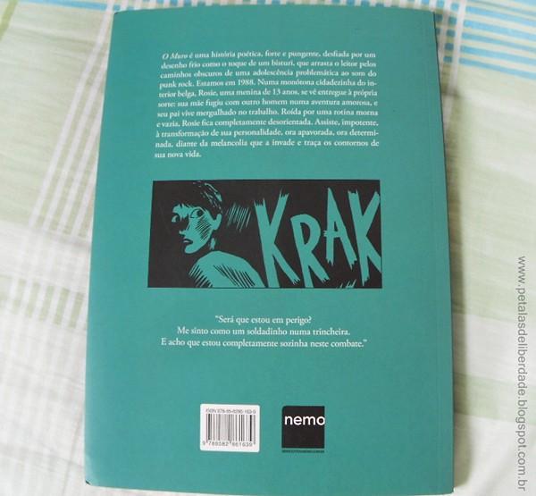 capa, sinopse, Resenha, hq, graphic novel, trecho, ler, O muro, Fraipont e Baily, Nemo