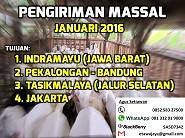 Dibuka Pengiriman Massal ke Jawa Tengah & Jawa Barat, Januari 2016 (Ditutup)