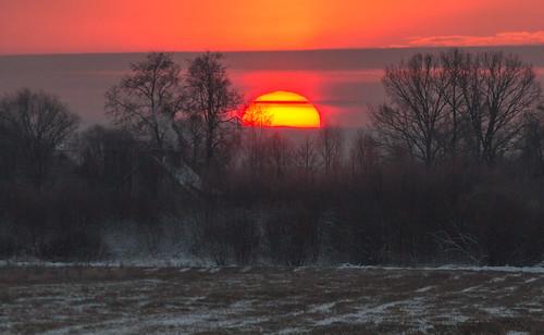 ziema saullēkts