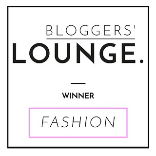 Bloggers Lounge Best Fashion Blog Winner 2015