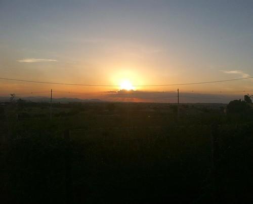 When the sun light goes down.. 🌅 #fimdatarde #sunset #arapiraca #alagoas