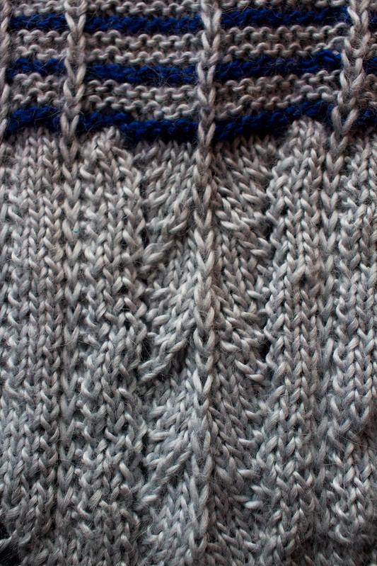Rose City Yarn Crawl MKAL - Velo Cowl Clue 1 detail
